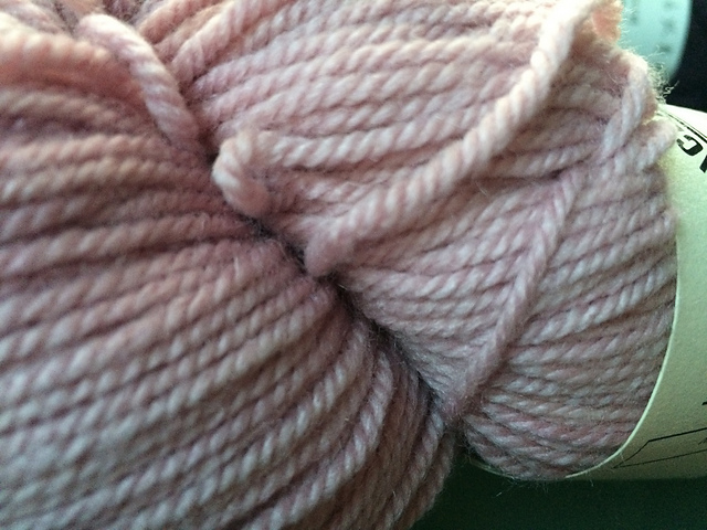 Luminous in the May Day colorway, by Sincere Sheep