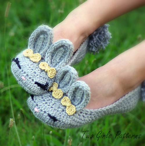 Women's Bunny House Slippers The Classic and Year-Round Slipper by Lorin Jean