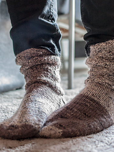 Cup of Cocoa Slouch Socks