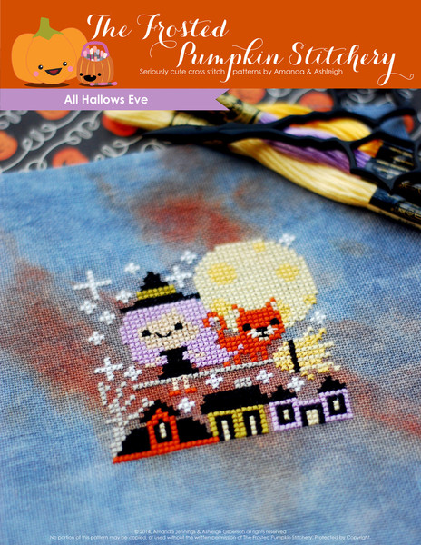 Cute Halloween cross stitch